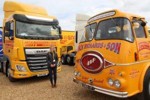 Lisa Richards attending Truckfest